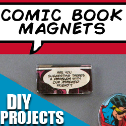 DIYProjectsWithComics